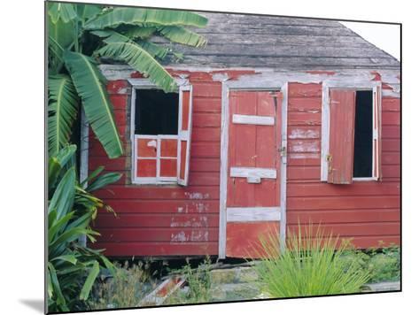 Old Chattel House, St. John's, Antigua, West Indies, Caribbean-J P De Manne-Mounted Photographic Print