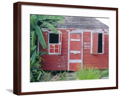 Old Chattel House, St. John's, Antigua, West Indies, Caribbean-J P De Manne-Framed Art Print