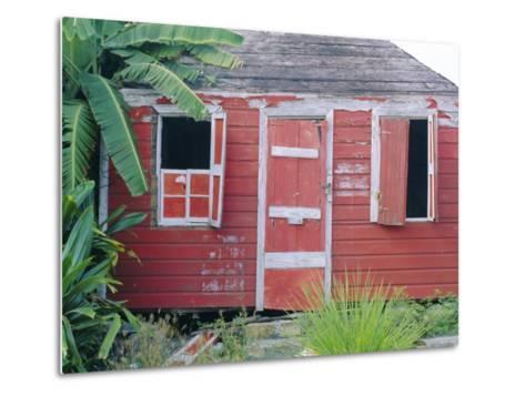 Old Chattel House, St. John's, Antigua, West Indies, Caribbean-J P De Manne-Metal Print
