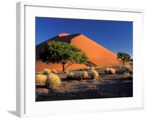 Sossosvlei Dunes, Namib-Naukluff Park, Namibia-Art Wolfe-Framed Art Print