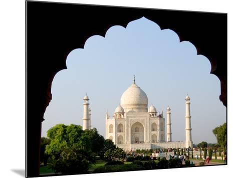 Sunrise at the Taj Mahal, Agra, India-Bill Bachmann-Mounted Photographic Print