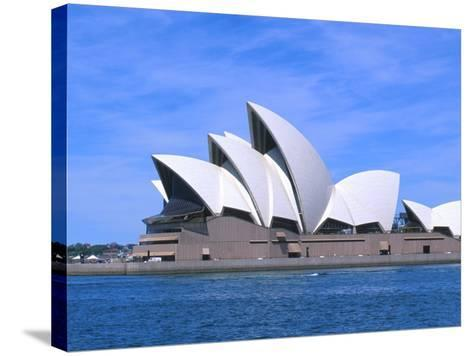 Opera House Close-up, Sydney, Australia-Bill Bachmann-Stretched Canvas Print
