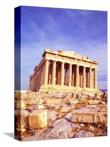 Parthenon on Acropolis, Athens, Greece-Bill Bachmann-Stretched Canvas Print
