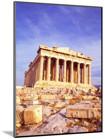 Parthenon on Acropolis, Athens, Greece-Bill Bachmann-Mounted Photographic Print