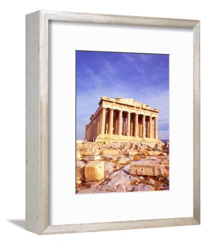 Parthenon on Acropolis, Athens, Greece-Bill Bachmann-Framed Art Print