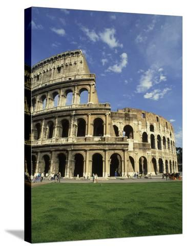 Ruins of the Coliseum, Rome, Italy-Bill Bachmann-Stretched Canvas Print