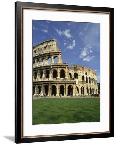 Ruins of the Coliseum, Rome, Italy-Bill Bachmann-Framed Art Print