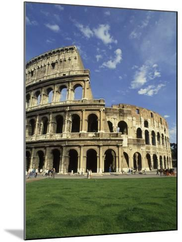 Ruins of the Coliseum, Rome, Italy-Bill Bachmann-Mounted Photographic Print