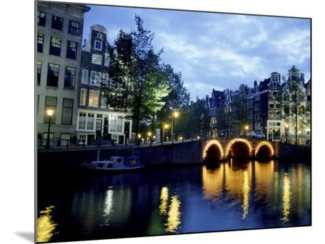 Canals of Amsterdam, Holland-Bill Bachmann-Mounted Photographic Print