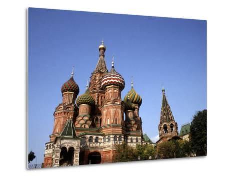 St. Basil's Cathedral, Red Square, Moscow, Russia-Bill Bachmann-Metal Print