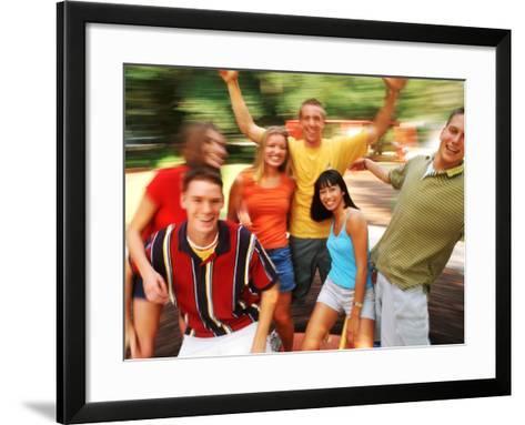 Teens Having Fun Outdoors-Bill Bachmann-Framed Art Print