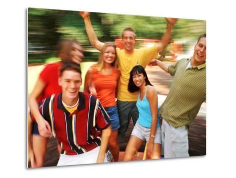 Teens Having Fun Outdoors-Bill Bachmann-Metal Print