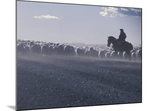 Gaucho, Patagonia, Argentina-Art Wolfe-Mounted Photographic Print
