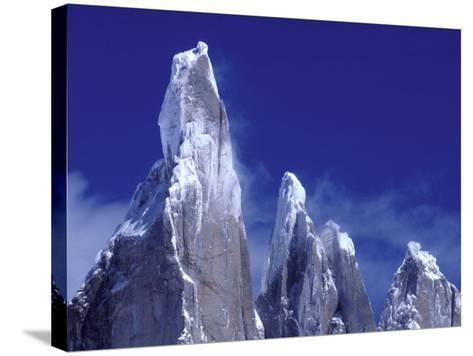 Cerro Torre, Los Glaciares National Park, Argentina-Art Wolfe-Stretched Canvas Print