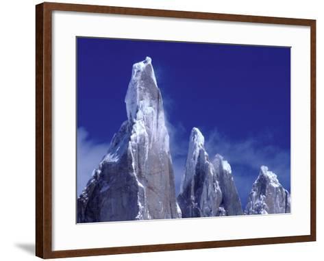 Cerro Torre, Los Glaciares National Park, Argentina-Art Wolfe-Framed Art Print