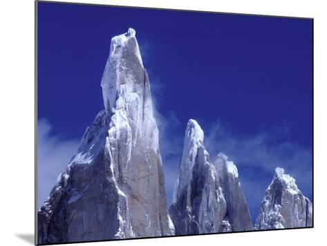 Cerro Torre, Los Glaciares National Park, Argentina-Art Wolfe-Mounted Photographic Print