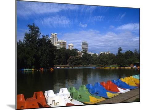 Colorful Boats, Palmero, Buenos Aires, Argentina-Bill Bachmann-Mounted Photographic Print