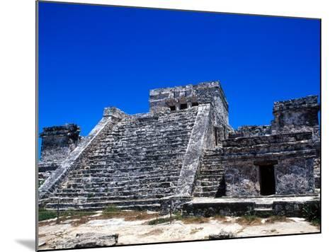 Pyramid Ruins in Tulum, Mexico-Bill Bachmann-Mounted Photographic Print
