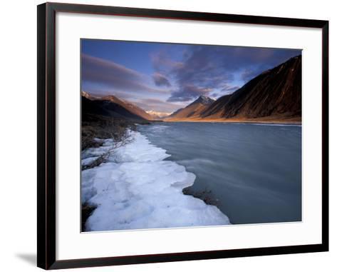 View of River and Landscape, Arctic National Wildlife Refuge, Alaska, USA-Art Wolfe-Framed Art Print