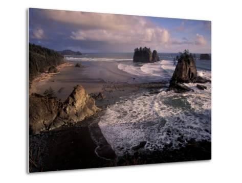 Second Beach, Olympic National Park, Washington, USA-Art Wolfe-Metal Print