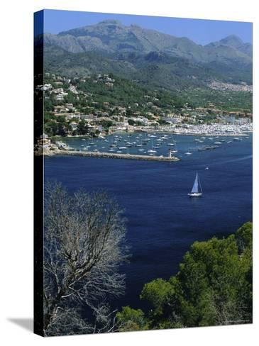 Port d'Andtrax, Mallorca, Balearic Islands, Spain-Christian Kober-Stretched Canvas Print