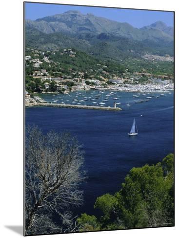 Port d'Andtrax, Mallorca, Balearic Islands, Spain-Christian Kober-Mounted Photographic Print