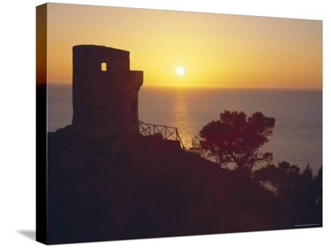 The Mirador of Ses Animes, Mallorca, Balearic Islands, Spain-Christian Kober-Stretched Canvas Print