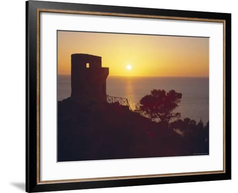 The Mirador of Ses Animes, Mallorca, Balearic Islands, Spain-Christian Kober-Framed Art Print