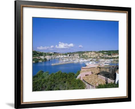 Porto Cervo, Sardinia, Italy, Mediterranean, Europe-Oliviero Olivieri-Framed Art Print