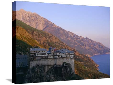 The Holy Mountain, Mount Athos, Unesco World Heritage Site, Greece, Europe-Oliviero Olivieri-Stretched Canvas Print