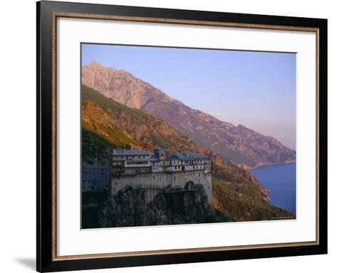 The Holy Mountain, Mount Athos, Unesco World Heritage Site, Greece, Europe-Oliviero Olivieri-Framed Art Print