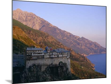 The Holy Mountain, Mount Athos, Unesco World Heritage Site, Greece, Europe-Oliviero Olivieri-Mounted Photographic Print