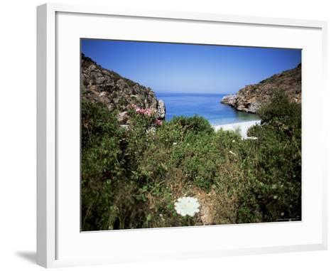 Mani, Gerolimenas Vasthia, Peloponnese, Greece, Europe-Oliviero Olivieri-Framed Art Print