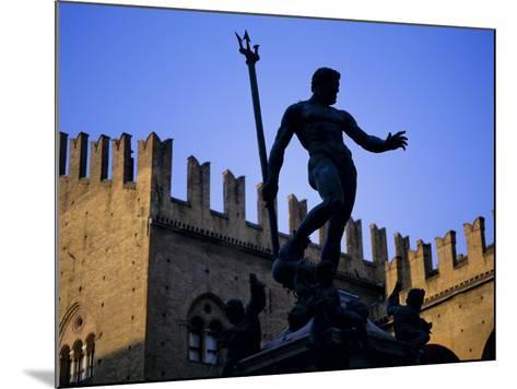 Nettuno (Neptune) Statue, Piazza Maggiore, Bologna, Emilia Romagna, Italy, Europe-Oliviero Olivieri-Mounted Photographic Print
