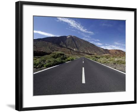 Mount Teide (Pico De Teide), Tenerife, Canary Islands, Spain-Sergio Pitamitz-Framed Art Print