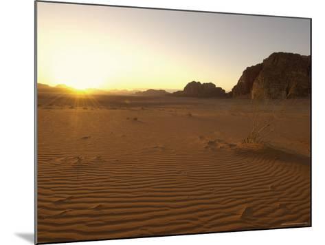 Desert, Wadi Rum, Jordan, Middle East-Sergio Pitamitz-Mounted Photographic Print