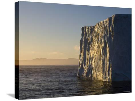 Iceberg on Bransfield Strait, Antarctic Peninsula, Antarctica, Polar Regions-Sergio Pitamitz-Stretched Canvas Print