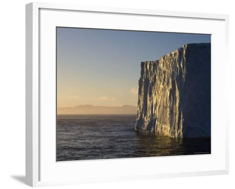 Iceberg on Bransfield Strait, Antarctic Peninsula, Antarctica, Polar Regions-Sergio Pitamitz-Framed Art Print