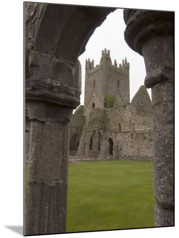 Jerpoint Abbey, County Kilkenny, Leinster, Republic of Ireland (Eire), Europe-Sergio Pitamitz-Mounted Photographic Print