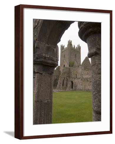 Jerpoint Abbey, County Kilkenny, Leinster, Republic of Ireland (Eire), Europe-Sergio Pitamitz-Framed Art Print