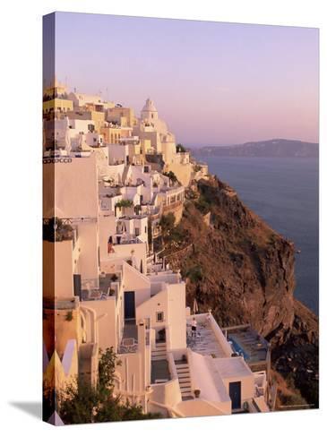 Fira, Santorini (Thira), Cyclades Islands, Aegean Sea, Greece, Europe-Sergio Pitamitz-Stretched Canvas Print
