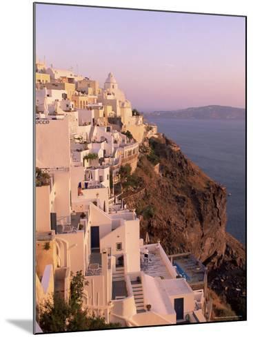 Fira, Santorini (Thira), Cyclades Islands, Aegean Sea, Greece, Europe-Sergio Pitamitz-Mounted Photographic Print