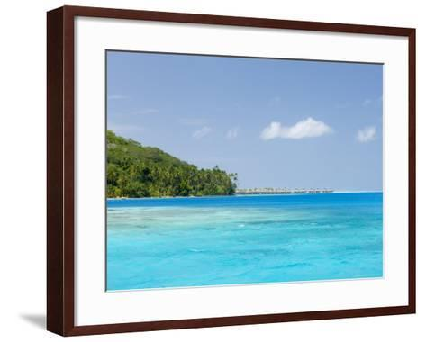 Bora-Bora, Leeward Group, Society Islands, French Polynesia, Pacific Islands, Pacific-Sergio Pitamitz-Framed Art Print