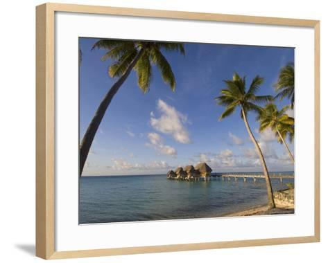 Pearl Beach Resort, Tikehau, Tuamotu Archipelago, French Polynesia, Pacific Islands, Pacific-Sergio Pitamitz-Framed Art Print