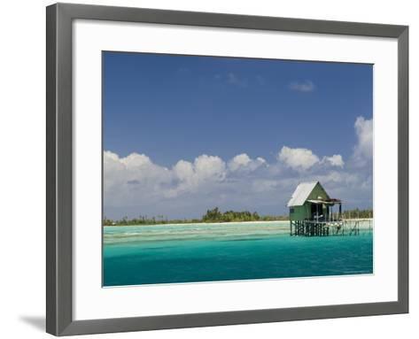 Tikehau, Tuamotu Archipelago, French Polynesia, Pacific Islands, Pacific-Sergio Pitamitz-Framed Art Print