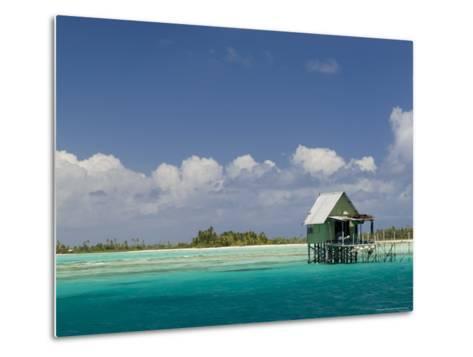 Tikehau, Tuamotu Archipelago, French Polynesia, Pacific Islands, Pacific-Sergio Pitamitz-Metal Print