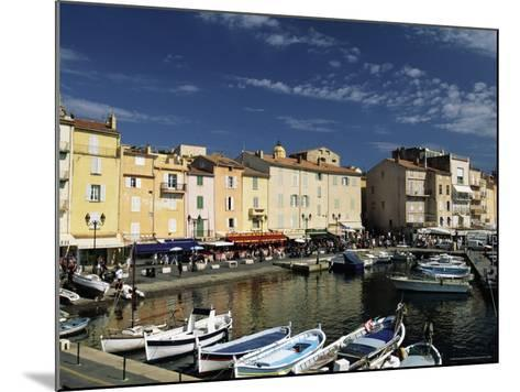 Boats and Waterfront, St. Tropez, Var, Cote d'Azur, Provence, French Riviera, France-Sergio Pitamitz-Mounted Photographic Print