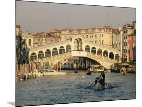 Rialto Bridge and the Grand Canal, Venice, Unesco World Heritage Site, Veneto, Italy, Europe-Sergio Pitamitz-Mounted Photographic Print
