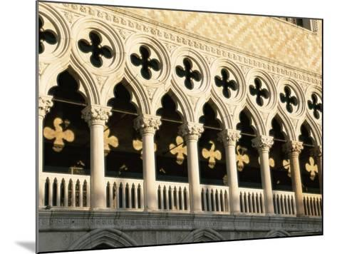 Architectural Detail of the Palazzo Ducale (Doge's Palace), Venice, Veneto, Italy, Europe-Sergio Pitamitz-Mounted Photographic Print
