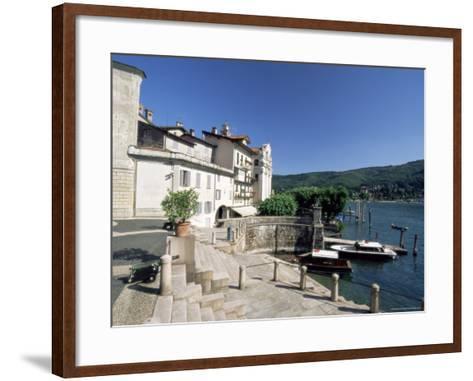 Isola Bella, Boromean Islands, Lake Maggiore, Italian Lakes, Piemonte (Piedmont), Italy, Europe-Sergio Pitamitz-Framed Art Print